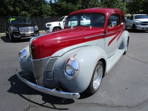 1940 Ford Tudor for sale at LULAY'S CAR CONNECTION in Salem OR