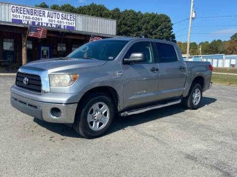 2007 Toyota Tundra for sale at Greenbrier Auto Sales in Greenbrier AR