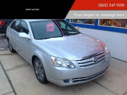 2005 Toyota Avalon for sale at Sindic Motors in Waukesha WI