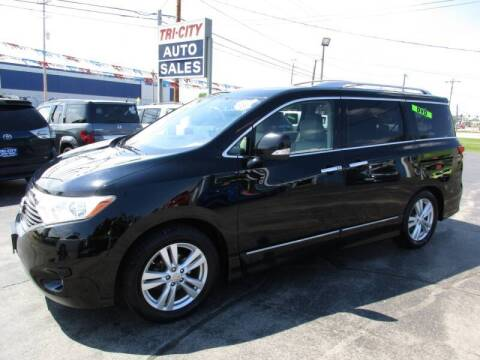 2012 Nissan Quest for sale at TRI CITY AUTO SALES LLC in Menasha WI