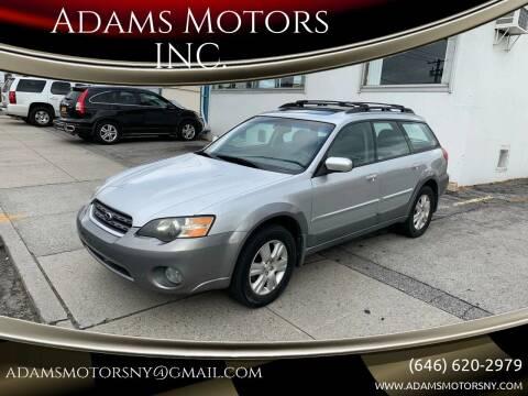 2005 Subaru Outback for sale at Adams Motors INC. in Inwood NY