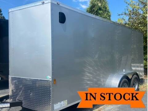 2022 FR 7 x 16 TA 2 for sale at Grizzly Trailers in Fitzgerald GA