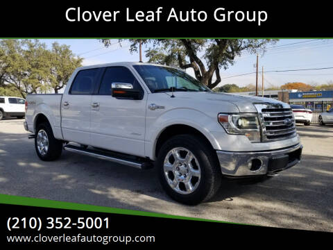 2013 Ford F-150 for sale at Clover Leaf Auto Group in San Antonio TX