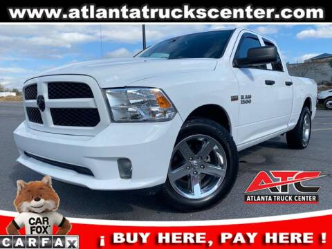 2015 RAM Ram Pickup 1500 for sale at ATLANTA TRUCK CENTER LLC in Brookhaven GA