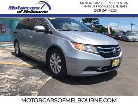 2016 Honda Odyssey for sale at Motorcars of Melbourne in Rockledge FL