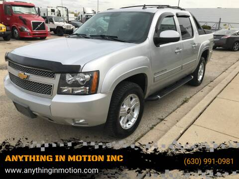 2011 Chevrolet Avalanche for sale at ANYTHING IN MOTION INC in Bolingbrook IL