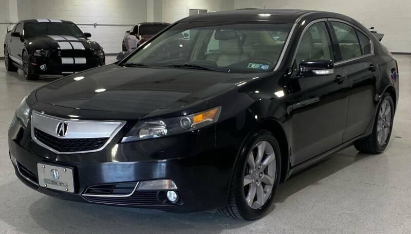 2012 Acura TL for sale at Hamilton Automotive in North Huntingdon PA