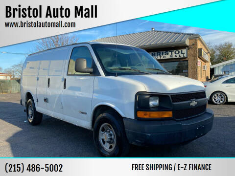 2004 Chevrolet Express Cargo for sale at Bristol Auto Mall in Levittown PA