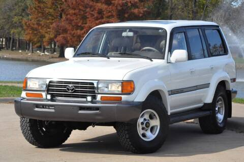 1996 Toyota Land Cruiser for sale at Texas Select Autos LLC in Mckinney TX