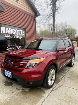 2015 Ford Explorer for sale at Marcotte & Sons Auto Village in North Ferrisburgh VT