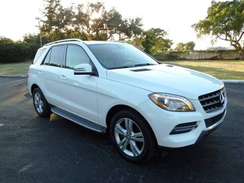 2014 Mercedes-Benz M-Class for sale at SUPER DEAL MOTORS in Hollywood FL