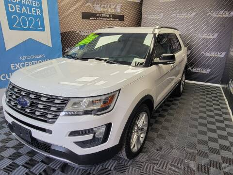 2016 Ford Explorer for sale at X Drive Auto Sales Inc. in Dearborn Heights MI
