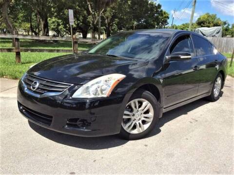 2012 Nissan Altima for sale at LESS PRICE AUTO BROKER in Hollywood FL