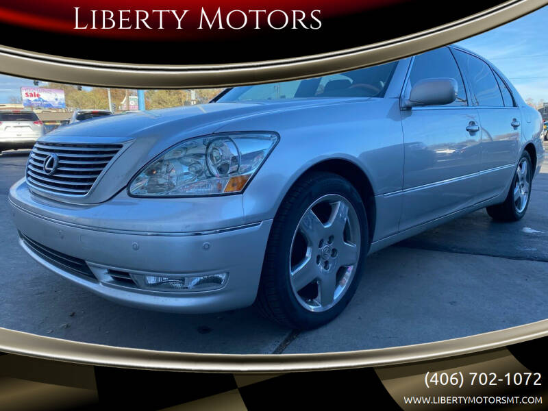 2006 Lexus LS 430 for sale at Liberty Motors in Billings MT