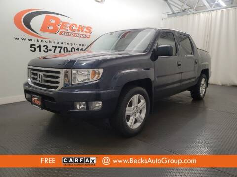 2012 Honda Ridgeline for sale at Becks Auto Group in Mason OH
