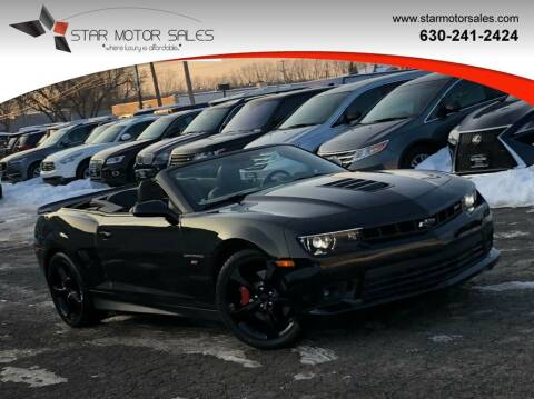 2015 Chevrolet Camaro for sale at Star Motor Sales in Downers Grove IL
