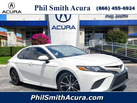 2018 Toyota Camry for sale at PHIL SMITH AUTOMOTIVE GROUP - Phil Smith Acura in Pompano Beach FL