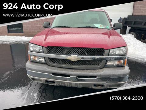 2004 Chevrolet Silverado 1500 for sale at 924 Auto Corp in Sheppton PA