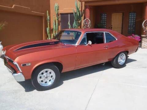 1968 Chevrolet Nova for sale at Classic Car Deals in Cadillac MI