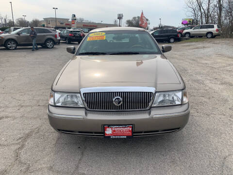 2003 Mercury Grand Marquis for sale at Community Auto Brokers in Crown Point IN