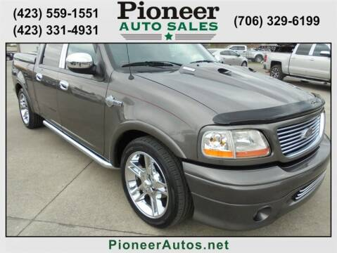 2002 Ford F-150 for sale at PIONEER AUTO SALES LLC in Cleveland TN