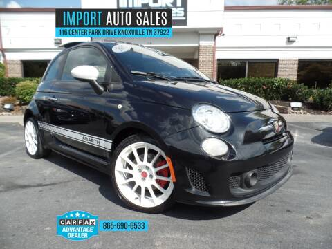 2013 FIAT 500 for sale at IMPORT AUTO SALES in Knoxville TN