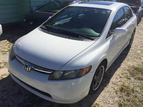 2007 Honda Civic for sale at Castagna Auto Sales LLC in Saint Augustine FL