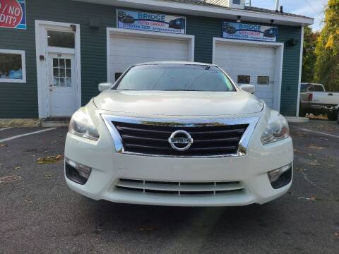 2015 Nissan Altima for sale at Bridge Auto Group Corp in Salem MA