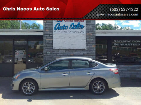 2014 Nissan Sentra for sale at Chris Nacos Auto Sales in Derry NH