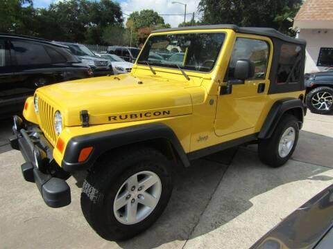 2004 Jeep Wrangler for sale at AUTO EXPRESS ENTERPRISES INC in Orlando FL