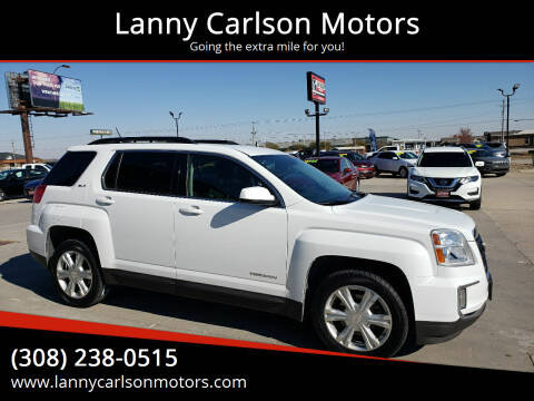 2017 GMC Terrain for sale at Lanny Carlson Motors in Kearney NE
