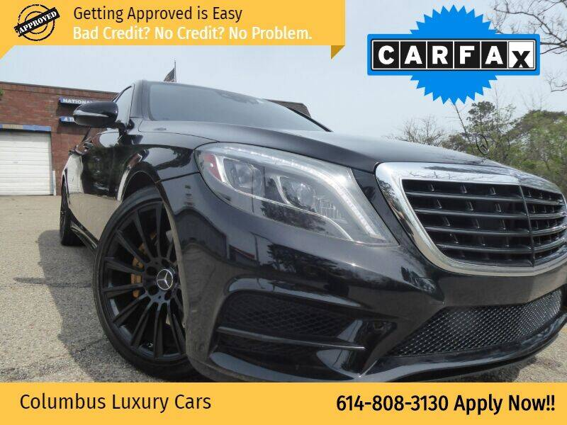 2014 Mercedes-Benz S-Class for sale at Columbus Luxury Cars in Columbus OH
