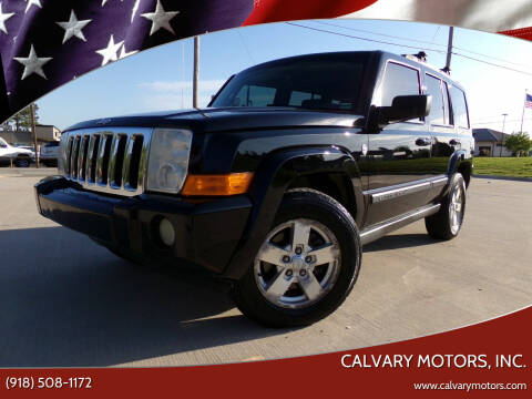 2007 Jeep Commander for sale at Calvary Motors, Inc. in Bixby OK