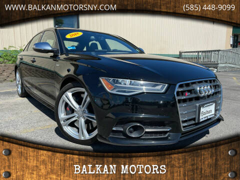 2018 Audi S6 for sale at BALKAN MOTORS in East Rochester NY