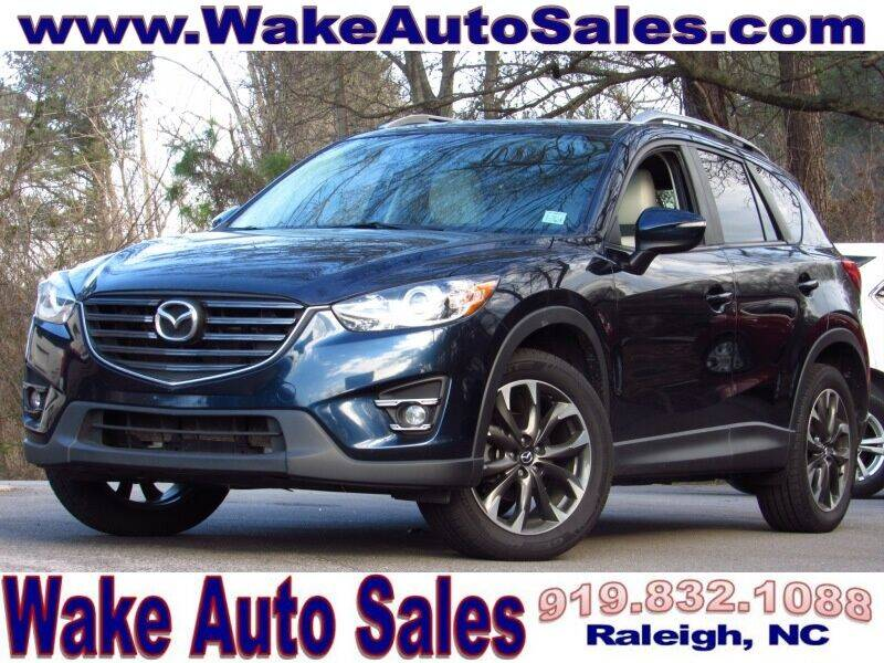 2016 Mazda CX-5 for sale at Wake Auto Sales Inc in Raleigh NC