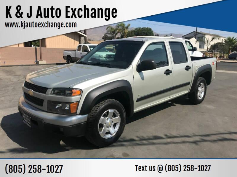 2012 Chevrolet Colorado for sale at K & J Auto Exchange in Santa Paula CA
