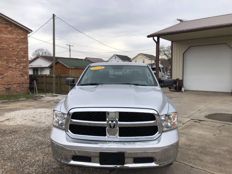 2018 RAM Ram Pickup 1500 for sale at ADKINS PRE OWNED CARS LLC in Kenova WV