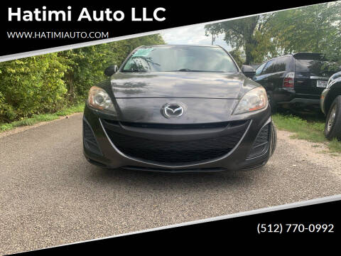 2010 Mazda MAZDA3 for sale at Hatimi Auto LLC in Buda TX