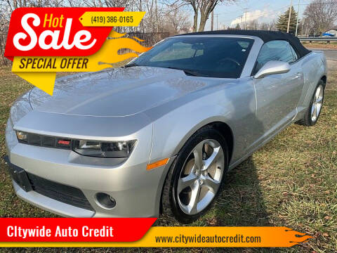 2015 Chevrolet Camaro for sale at CItywide Auto Credit in Oregon OH