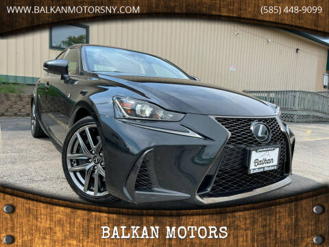 2018 Lexus IS 300 for sale at BALKAN MOTORS in East Rochester NY
