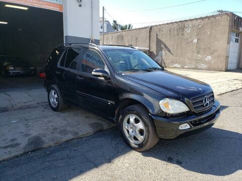 2003 Mercedes-Benz M-Class for sale at O A Auto Sale in Paterson NJ
