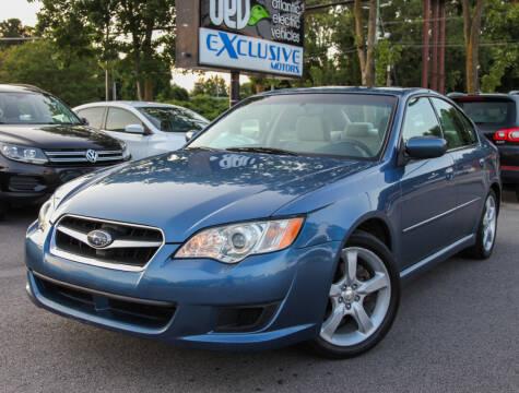 2008 Subaru Legacy for sale at EXCLUSIVE MOTORS in Virginia Beach VA