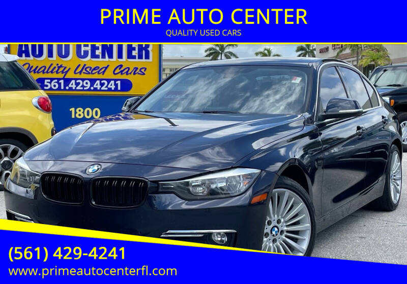 2013 BMW 3 Series for sale at PRIME AUTO CENTER in Palm Springs FL