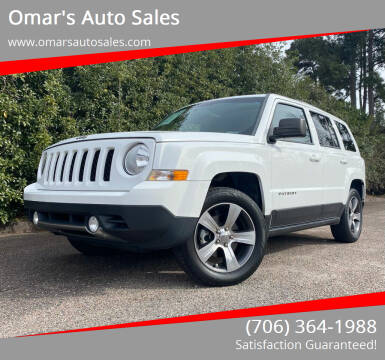 2016 Jeep Patriot for sale at Omar's Auto Sales in Martinez GA