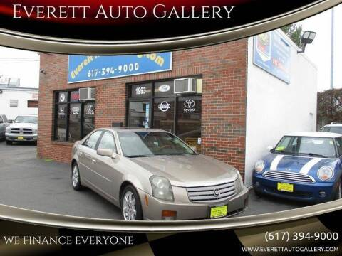 2003 Cadillac CTS for sale at Everett Auto Gallery in Everett MA