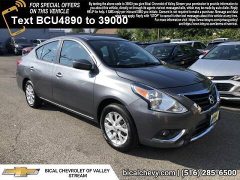 2018 Nissan Versa for sale at BICAL CHEVROLET in Valley Stream NY