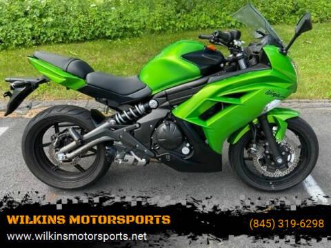 2012 Kawasaki Ninja 650 for sale at WILKINS MOTORSPORTS in Brewster NY