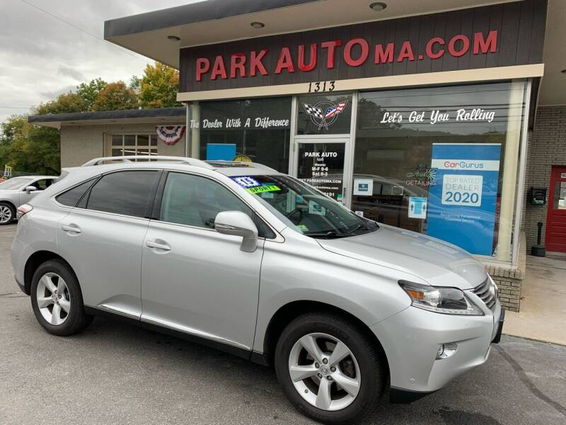 2015 Lexus RX 350 for sale at Park Auto LLC in Palmer MA