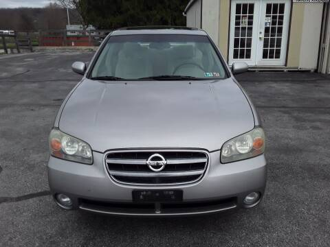 2002 Nissan Maxima for sale at Dun Rite Car Sales in Downingtown PA