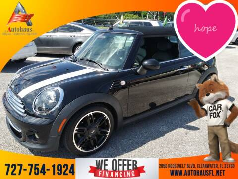 2014 MINI Convertible for sale at Das Autohaus Quality Used Cars in Clearwater FL